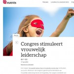 High profile events - congresartikel